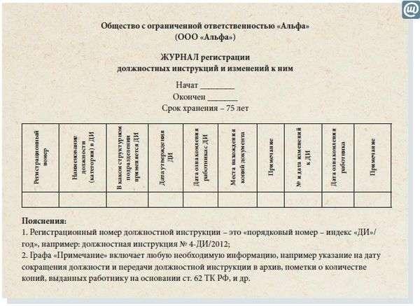 трудовой кодекс рф должностные инструкции - фото 9