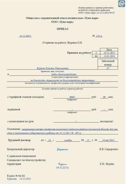 трудовой договор украина образец скачать 2015 фоп - фото 9