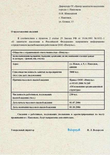 протокол заседания комиссии по сокращению штата образец
