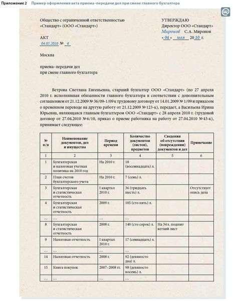 акт приема передач бухгалтерских документов образец рк - фото 2