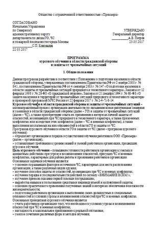 Главный Специалист По Гражданской Обороне Должностная Инструкция