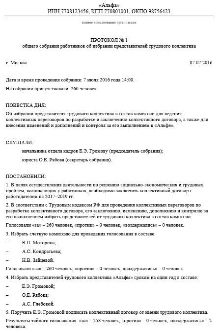 штатное расписание утверждается общим собранием участников